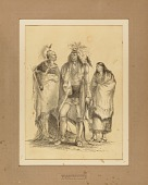view Group of Algonquian and Iroquoian Indian--no. 1 digital asset number 1