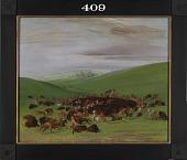 view Buffalo Chase, a Surround by the Hidatsa digital asset number 1