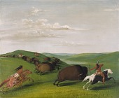 view Buffalo Chase with Bows and Lances digital asset number 1