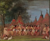 view Dance of the Chiefs, Mouth of the Teton River digital asset number 1