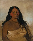 view Káh-kée-tsee, Thighs, a Wichita Woman digital asset number 1