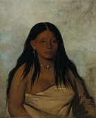 view Shé-de-ah, Wild Sage, a Wichita Woman digital asset number 1