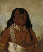 view Téh-tóot-sah (better known as Tohausen, Little Bluff), First Chief digital asset number 1