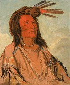 view Tchán-dee, Tobacco, an Oglala Chief digital asset number 1