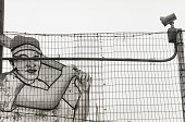view Baseball Player and Fence digital asset number 1