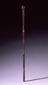 view Cane with Head and Geometric Inlay digital asset number 1