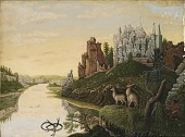 view Landscape with Castles and Deer digital asset number 1
