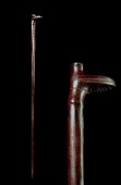 view Cane with Boot-Shaped Handle digital asset number 1