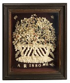 view Shadow Box with Floral Bouquet digital asset number 1