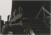 view Untitled--Old Man by Stairs, from the portfolio Photographs of New York digital asset number 1