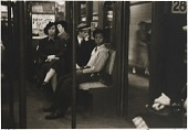 view Untitled--Boy on Subway Seat, from the portfolio Photographs of New York digital asset number 1