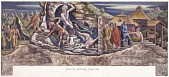 view The Legend of Bubbling Springs (mural study, Manitou Springs, Colorado Post Office) digital asset number 1