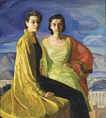 view The Davicos (Portrait of the Davico Sisters) digital asset number 1