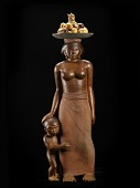 view Javanese Mother and Child digital asset number 1