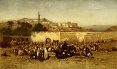 view Market Day Outside the Walls of Tangiers, Morocco digital asset number 1