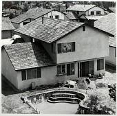 view Recently Occupied House, Dimond Bar, CA, from the Los Angeles Documentary Project digital asset number 1