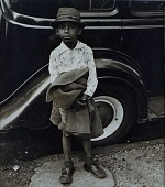 view Boy and Car, New York City (Knickerbocker Village) digital asset number 1