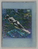 view Untitled (nude female lying in forest undergrowth) digital asset number 1