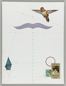 view Untitled (cutout of bird in flight) digital asset number 1