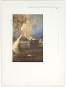 "view Untitled (seascape in Titian's ""Portrait of the Doge Francesco Venier"") digital asset number 1"