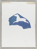 view Untitled (horse stencil cutout) digital asset number 1