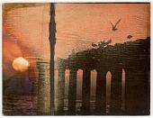 view Untitled (Birds, Columns, Sunset) digital asset number 1