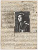 view Untitled (book jacket photograph of Susan Sontag) digital asset number 1