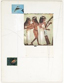 view Untitled (Egyptian wall painting) digital asset number 1