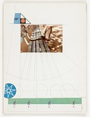 view Untitled (pigeon on park bench) digital asset number 1