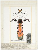 view Untitled (Rorschach drawing) digital asset number 1