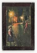 view Untitled (European street at night) digital asset number 1