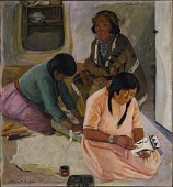 view Indian Women Making Pottery digital asset number 1
