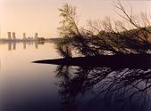 view Three Mile Island Nuclear Plant, Susquehanna River, Pennsylvania digital asset number 1