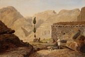 view The Top of Mount Sinai with the Chapel of Elijah digital asset number 1
