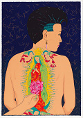 view La Ofrenda, from the National Chicano Screenprint Taller, 1988-1989 digital asset number 1