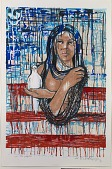 view We the People, from the National Chicano Screenprint Taller, 1988-1989 digital asset number 1