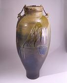 view Tie Down Salt Glazed Covered Jar digital asset number 1