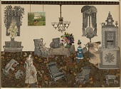 view Untitled (Victorian Collage) digital asset number 1