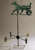 view Horse and Sulky Weathervane digital asset number 1