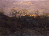 view Edge of the Forest, Twilight digital asset number 1