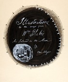 """view Title page, Illustrations to the songs from William Blake's """"Island in the Moon"""" digital asset number 1"""