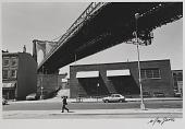 view Man Walking, Brooklyn Bridge digital asset number 1