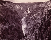 view Grand Canyon of the Yellowstone and Falls digital asset number 1