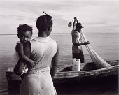 """view Familia Del Mar/Family of the Sea (Livingston, Guatemala), from the series """"Tengo Casi 500 Años: Africa's Legacy in Central America"""" digital asset number 1"""
