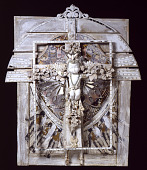 view Untitled (White Crucifix) digital asset number 1