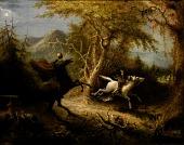 view The Headless Horseman Pursuing Ichabod Crane digital asset number 1