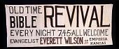 "view Revival Banner (""Old Time Bible Revival"") digital asset number 1"