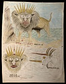 view Revival Banner (Lions and Unicorn, Dan. and Rev.) digital asset number 1