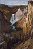 view View of the Lower Falls, Grand Canyon of the Yellowstone digital asset number 1