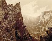 view Valley of the Yosemite from Union Point digital asset number 1